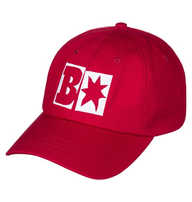 0 Men's Baker X DC Decon Baseball Hat Red ADYHA03468 DC Shoes