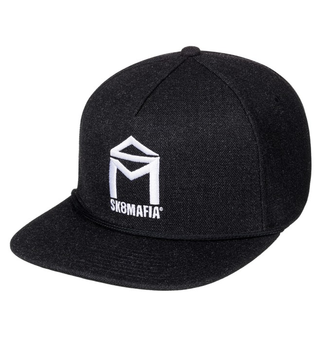 0 Sk8Mafia Stash - Gorra Ajustable Negro ADYHA03469 DC Shoes