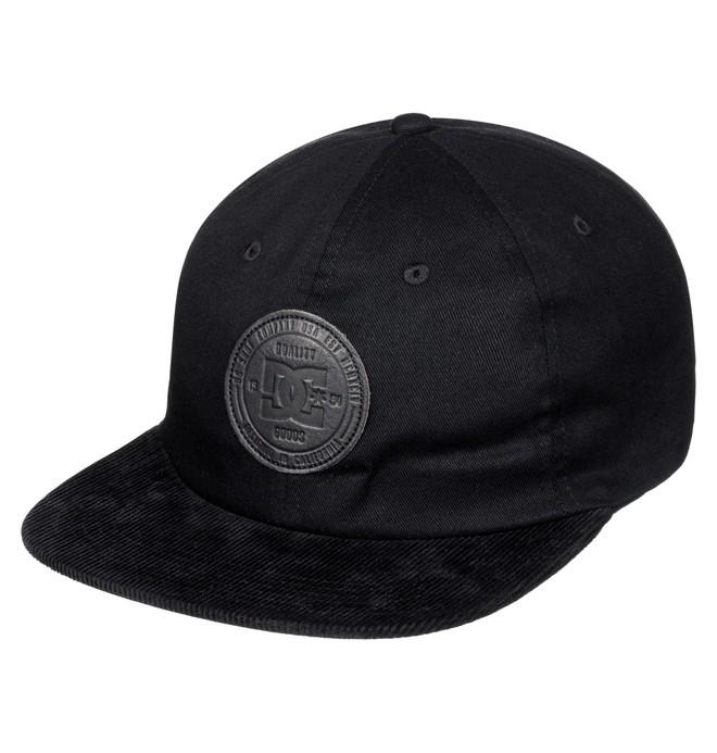 0 Texter - Snapback Cap Black ADYHA03478 DC Shoes