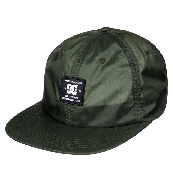 0 Albury - Gorra Ajustable Verde ADYHA03485 DC Shoes