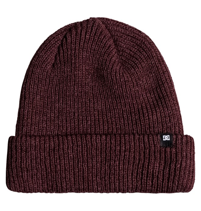 0 Men's HarTanker Beanie Red ADYHA03490 DC Shoes