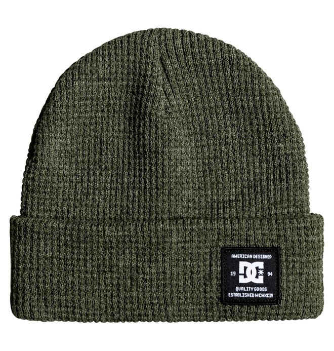 0 Men's Milton Beanie Green ADYHA03492 DC Shoes