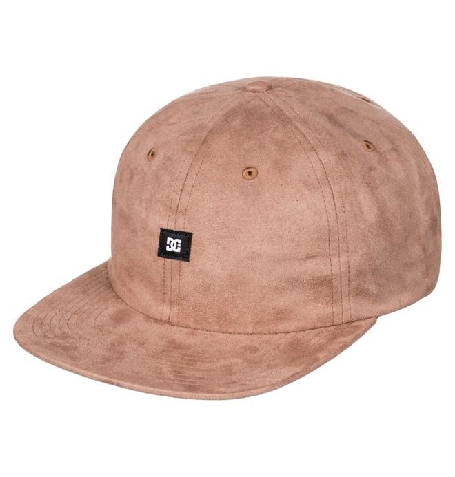 0 Suedes - Snapback Cap Brown ADYHA03496 DC Shoes