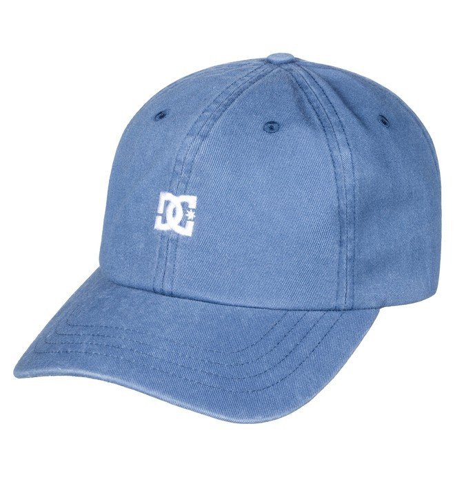 0 Men's Uncle Fred Dad Hat Blue ADYHA03546 DC Shoes