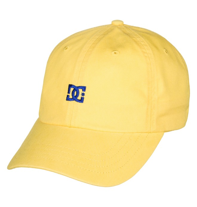 0 Men's Uncle Fred Dad Hat Yellow ADYHA03546 DC Shoes