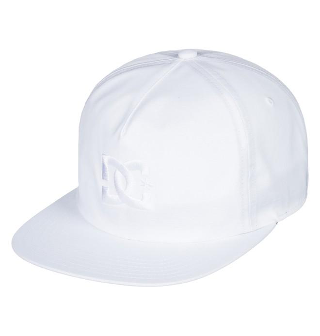 0 Floora - Baseball Hat White ADYHA03548 DC Shoes