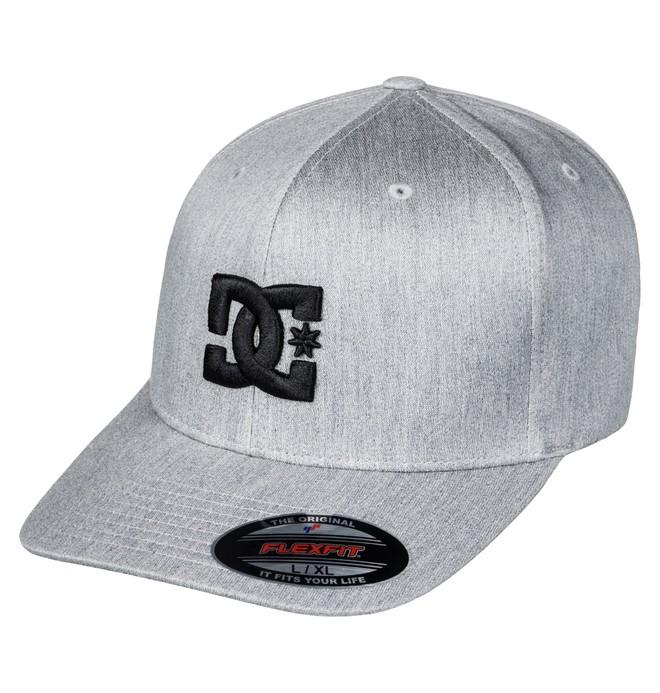 0 Men's Hatstar TX Flexfit Hat Black ADYHA03561 DC Shoes