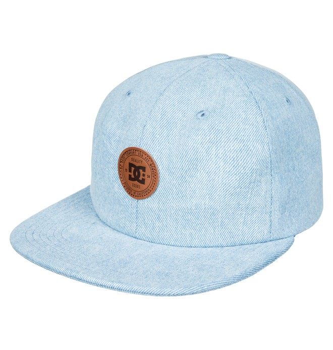 0 Men's Brenim Snapback Hat Blue ADYHA03571 DC Shoes