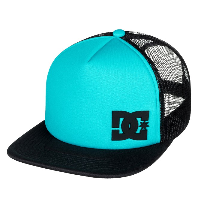 0 Men's Madglads Trucker Hat Blue ADYHA03574 DC Shoes