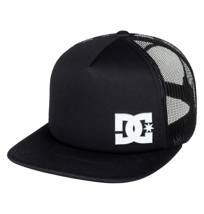 0 Men's Madglads Trucker Hat Black ADYHA03574 DC Shoes