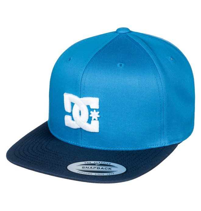 0 Snappy - Casquette snapback Bleu ADYHA03575 DC Shoes