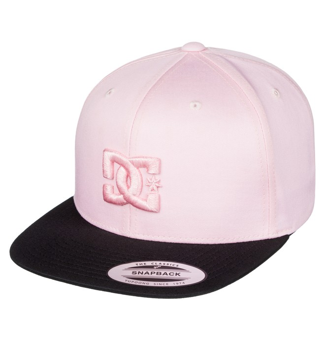 0 Snappy - Casquette snapback Rose ADYHA03575 DC Shoes