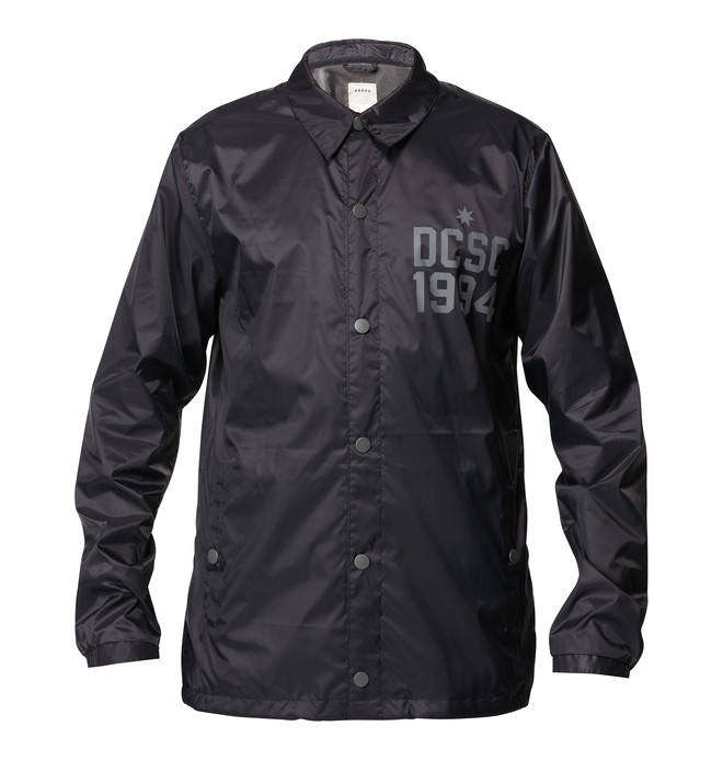 0 Men's Field Jacket Black ADYJK00015 DC Shoes