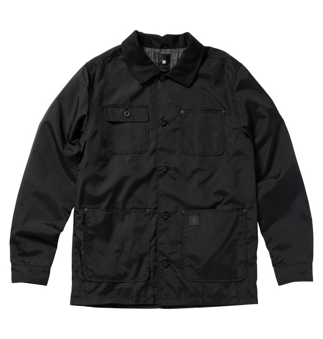 0 Men's Clydesdale Jackets Black ADYJK00026 DC Shoes