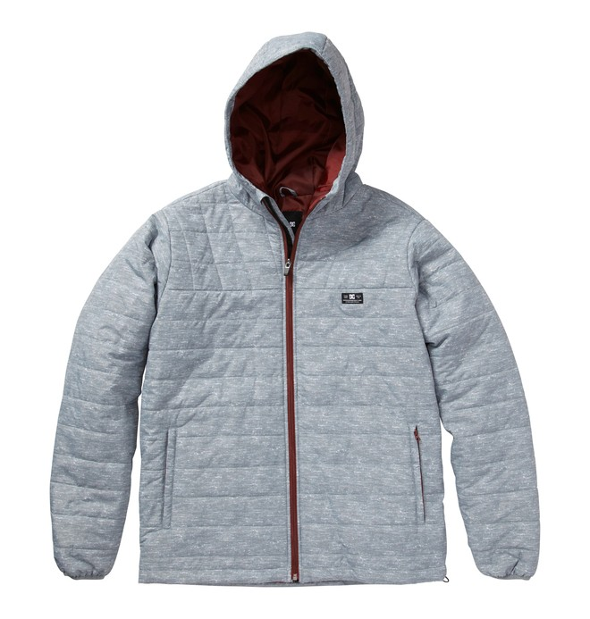0 Men's Bolinas Jackets Grey ADYJK00030 DC Shoes