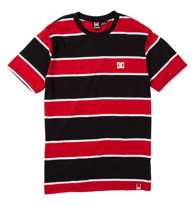 0 Men's Rob Dyrdek Score Shirt Red ADYKT00001 DC Shoes