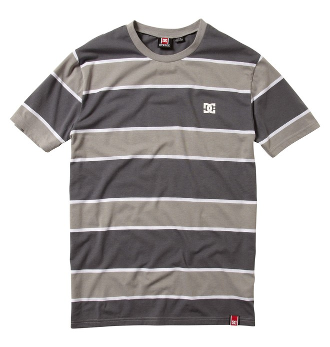 0 Men's Rob Dyrdek Score Shirt Grey ADYKT00001 DC Shoes