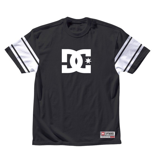0 Men's Rob Dyrdek Division Tee Black ADYKT00034 DC Shoes