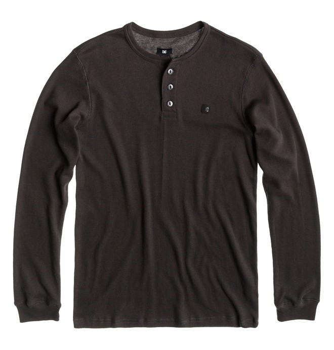 0 Men's Yield Thermal Henley  ADYKT00090 DC Shoes