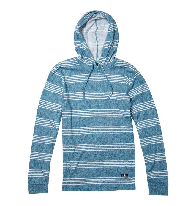 0 Men's Heroland Pull Over Hoodie Blue ADYKT00104 DC Shoes