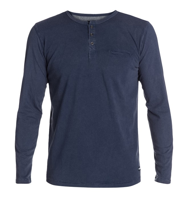 0 Switchblade Long Sleeve Tee Blue ADYKT03000 DC Shoes