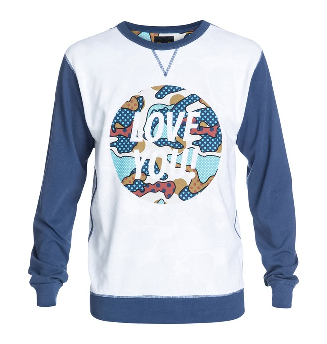 0 Cyrcle 'Love You' Crew  ADYKT03003 DC Shoes