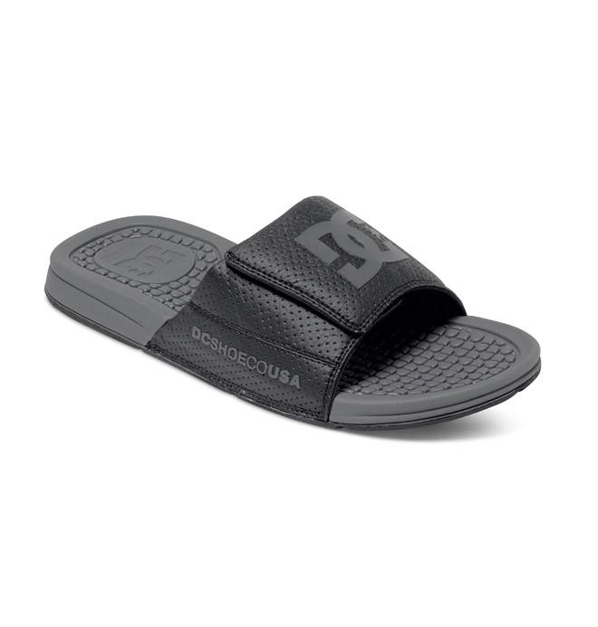 0 Men's Drifter Sandals Black ADYL100003 DC Shoes