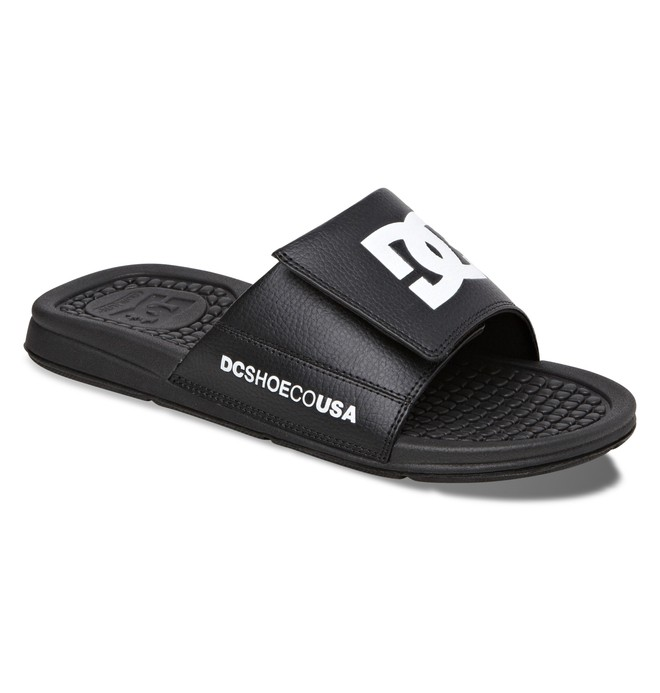 0 Men's Drifter Sandals Black ADYL100003 DC Shoes