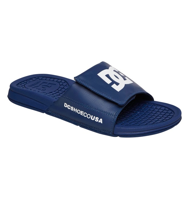0 Men's Drifter Sandals Blue ADYL100003 DC Shoes