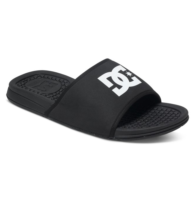 0 Men's Bolsa Slider Sandals Black ADYL100026 DC Shoes