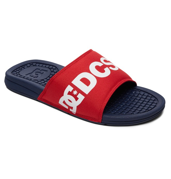 0 Men's Bolsa SP Slider Sandals Blue ADYL100032 DC Shoes