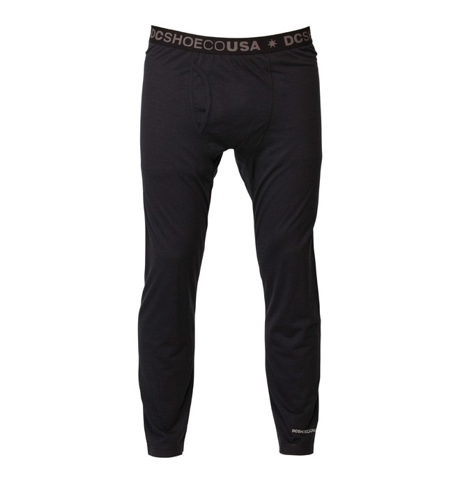 0 Men's Oak Base Layer Pant Black ADYLW00000 DC Shoes