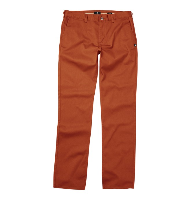 Dc Worker Straight Pant Orange ADYNP00001