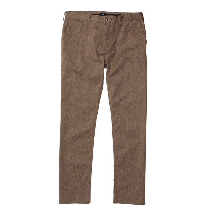 Dc Worker Straight Pant Marron ADYNP00001
