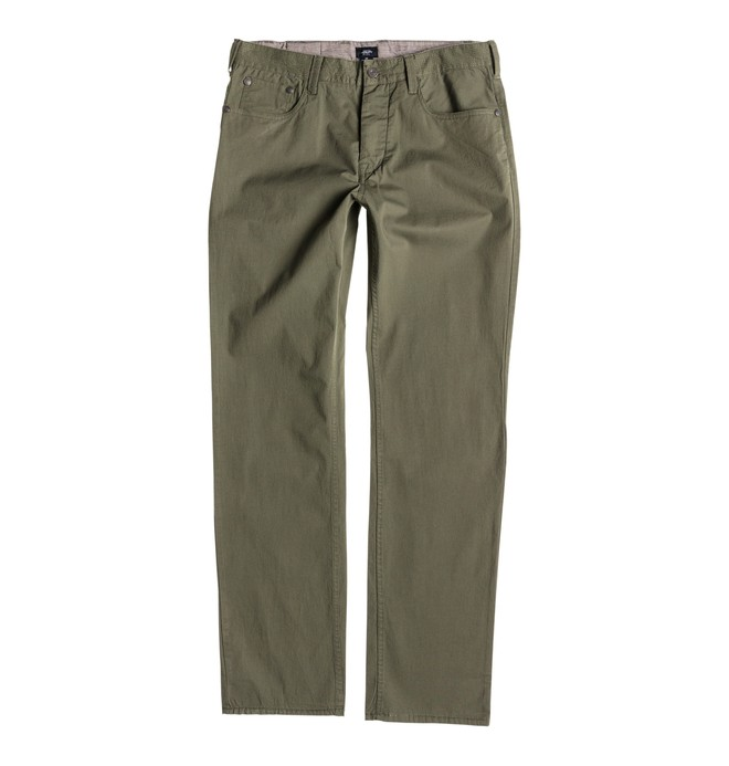 0 Men's Chris Cole Cult Pant Brown ADYNP00015 DC Shoes