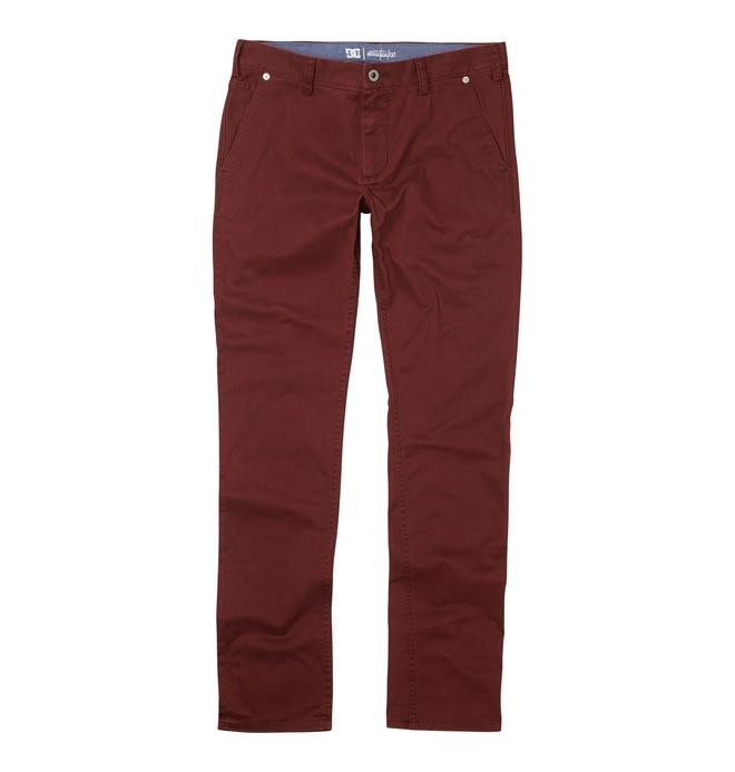 0 Borough Taylor S Pants Red ADYNP00020 DC Shoes