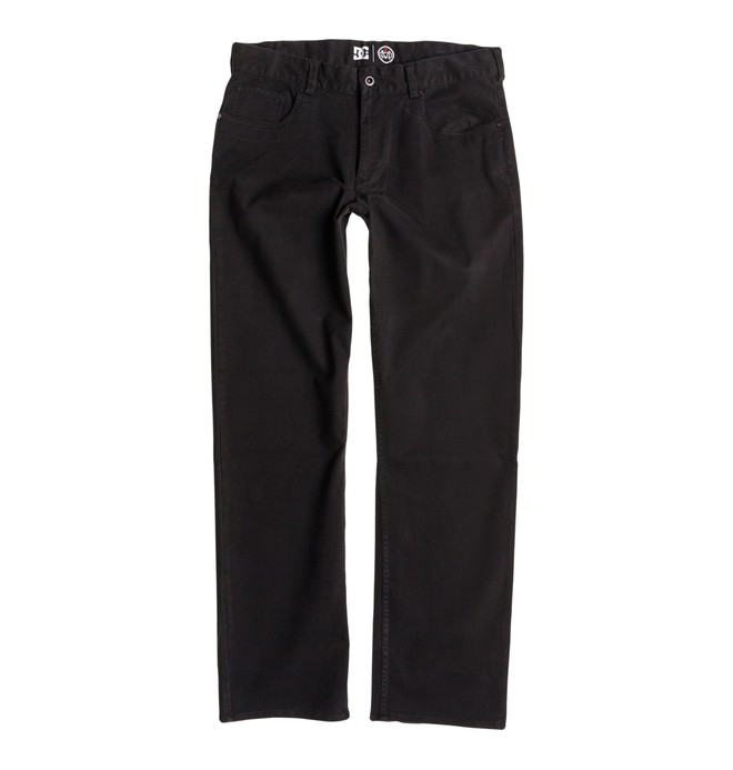 0 Men's Mike Mo Chino Pant Black ADYNP00021 DC Shoes
