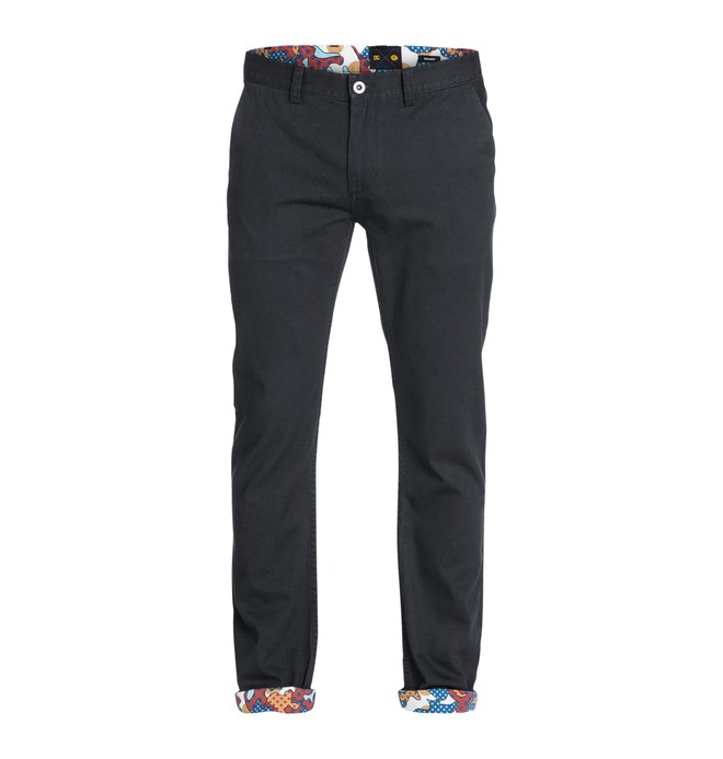 0 Cyrcle Chino Pants Black ADYNP03014 DC Shoes