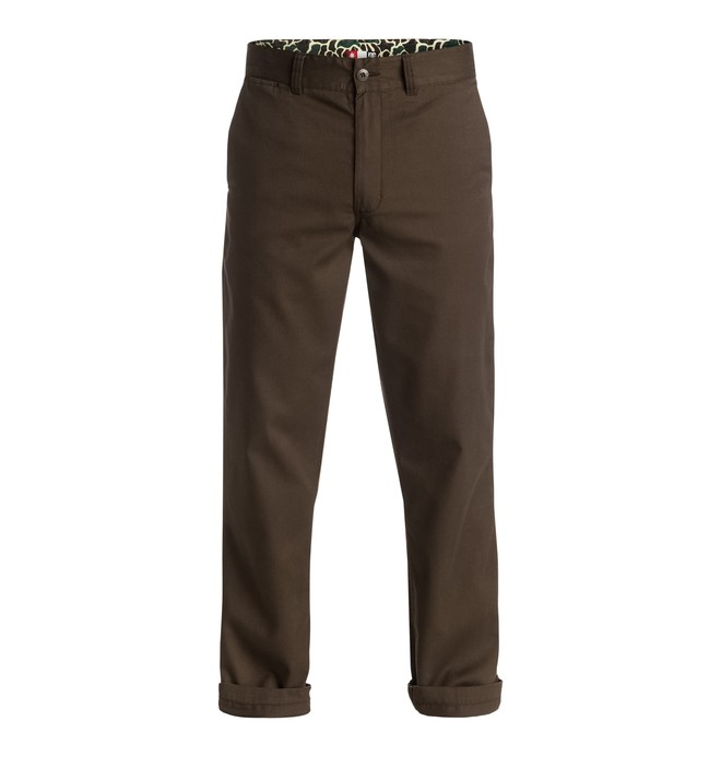 0 Men's Core All Season Straight Fit Pants  ADYNP03030 DC Shoes