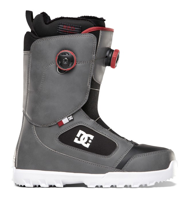 0 Men's Control Snow Boots Grey ADYO100001 DC Shoes