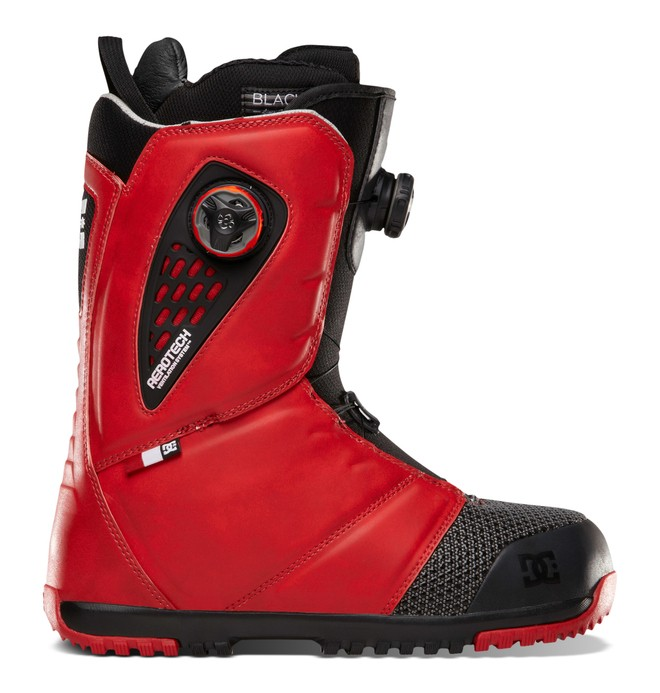 0 Men's Judge Snow Boots Red ADYO100004 DC Shoes