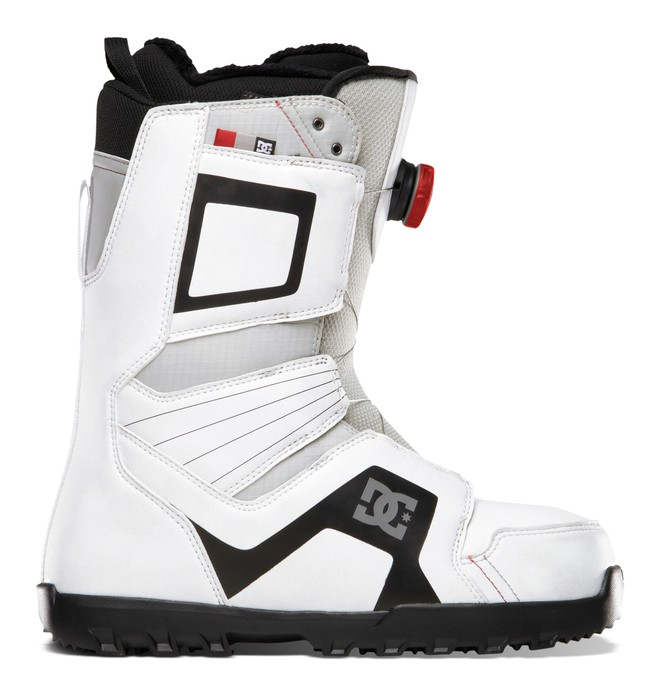 0 Men's Scout Snow Boots White ADYO100008 DC Shoes