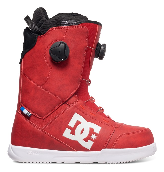 0 Men's Control Snowboard Boots Red ADYO100018 DC Shoes