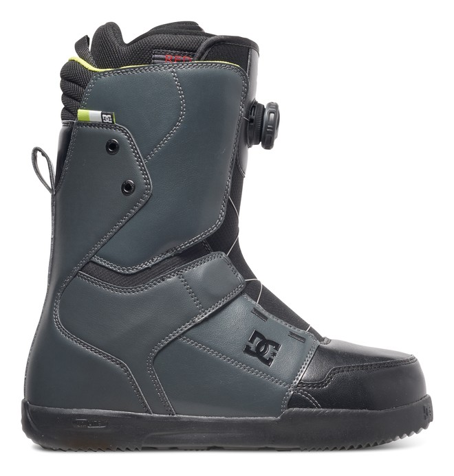 0 Men's Scout Snowboard Boots Grey ADYO100020 DC Shoes