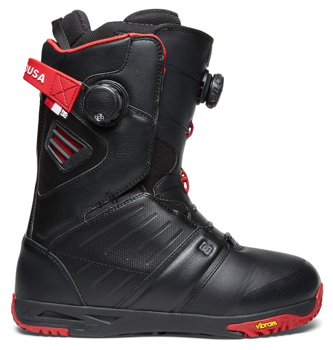 0 Men's Judge BOA Snowboard Boots Black ADYO100025 DC Shoes