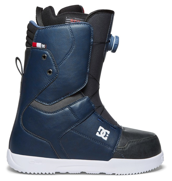 0 Men's Scout BOA Snowboard Boots Blue ADYO100027 DC Shoes