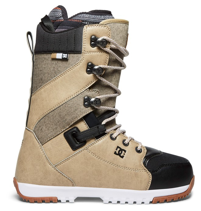 0 Men's Mutiny Lace Up Snowboard Boots Brown ADYO200034 DC Shoes