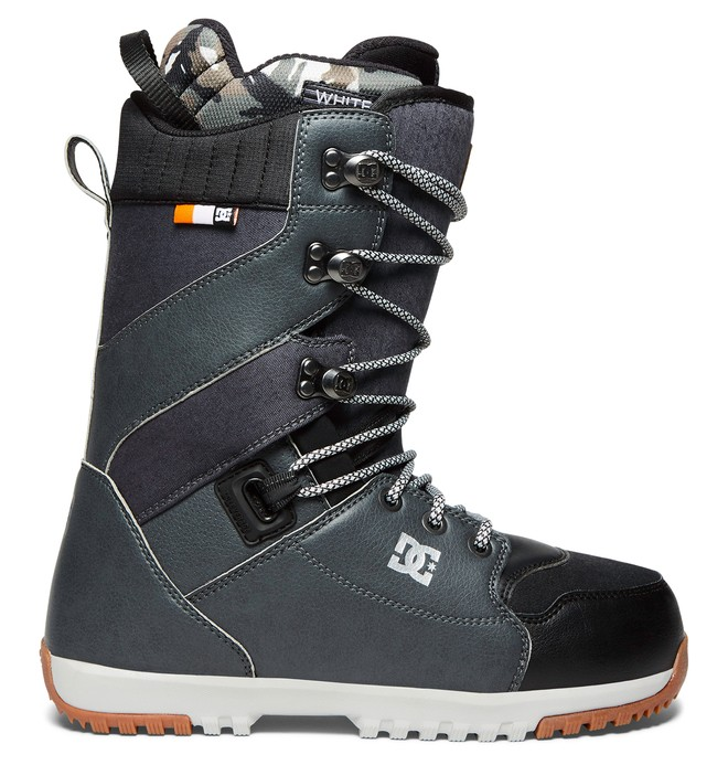 0 Men's Mutiny Lace Up Snowboard Boots Grey ADYO200034 DC Shoes
