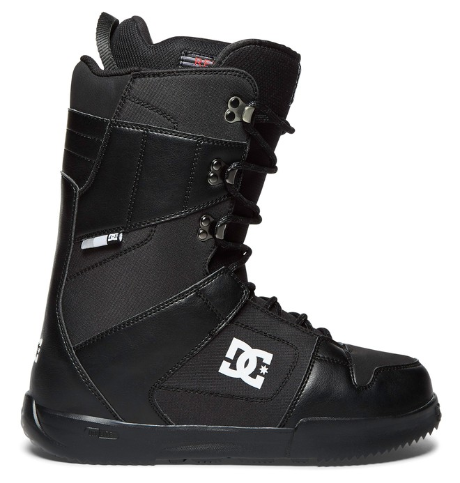 0 Men's Phase Lace Up Snowboard Boots Black ADYO200035 DC Shoes