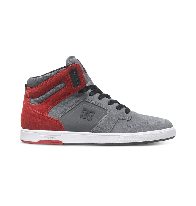 0 Men's Nyjah SE High-Top Shoes Grey ADYS100022 DC Shoes